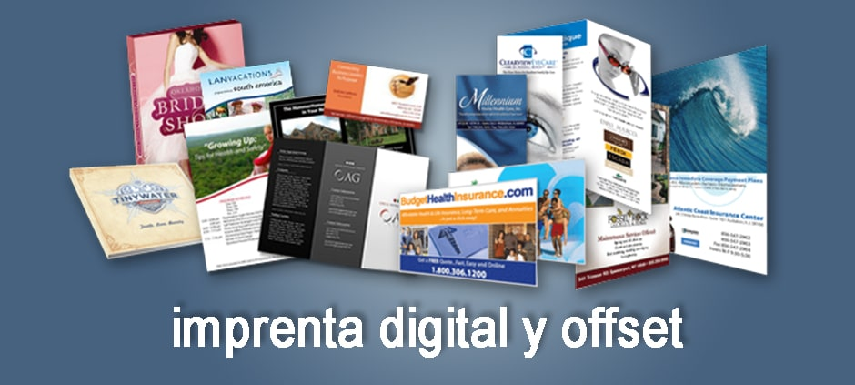 imprenta digital y offset